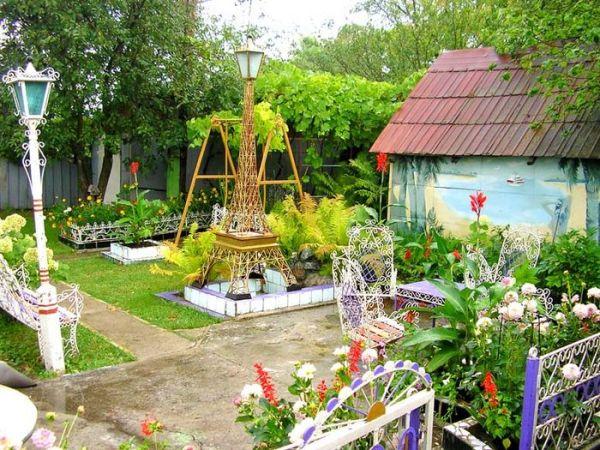 Выкройка мокасинОформление сада огорода своими руками фото