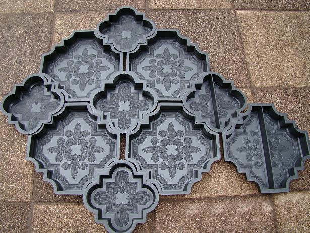 Плитка тротуарная своими руками формы фото