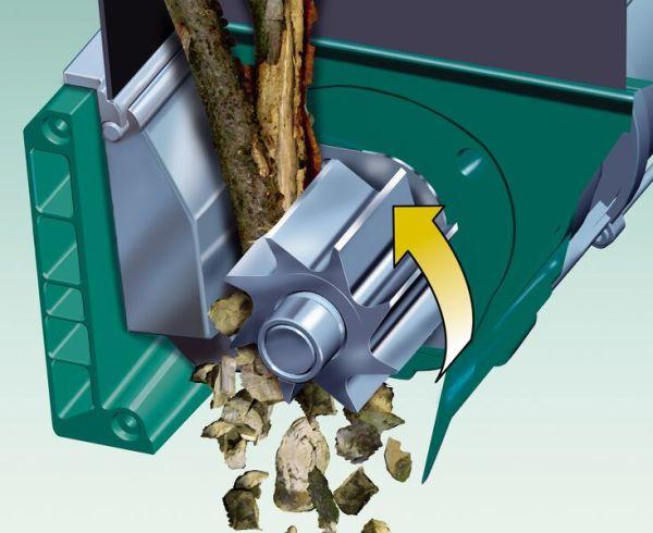 Принцип действия фрезерного режущего механизма.