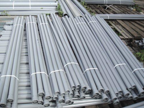 Прочные и долговечные канализационные трубы из поливинилхлорида ПВХ