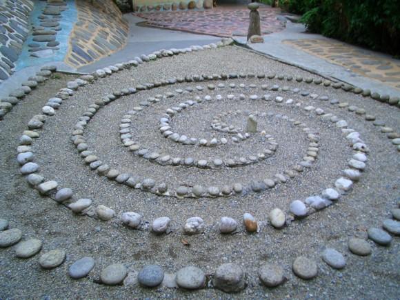 «Сад камней» на участке