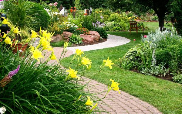 Сад может стать прекрасным местом отдыха