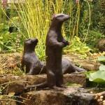 Садовые скульптуры своими руками