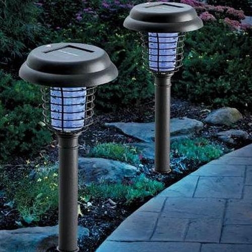Садовые уличные фонари для участка