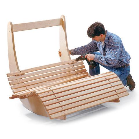 Сборка двойного кресла