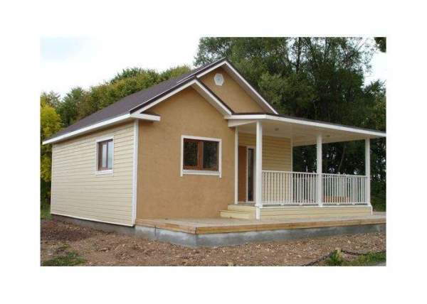 Сборной домик для дачи
