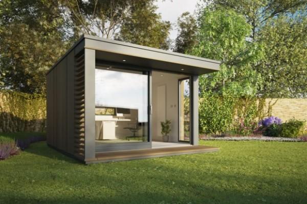 Сборные садовые сооружения могут делаться с использованием любых легких современных материалов.