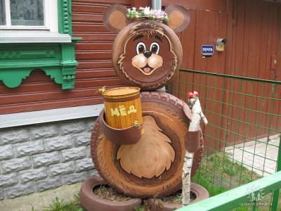 Собственный медведь на даче