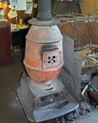 Соорудить её можно, к примеру, из ненужной бочки и нескольких листов металла