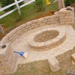 Сооружение очага на даче
