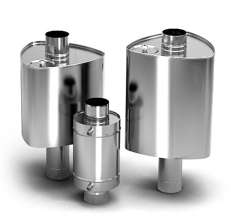 Специальные баки для воды, которые устанавливаются на дымоход