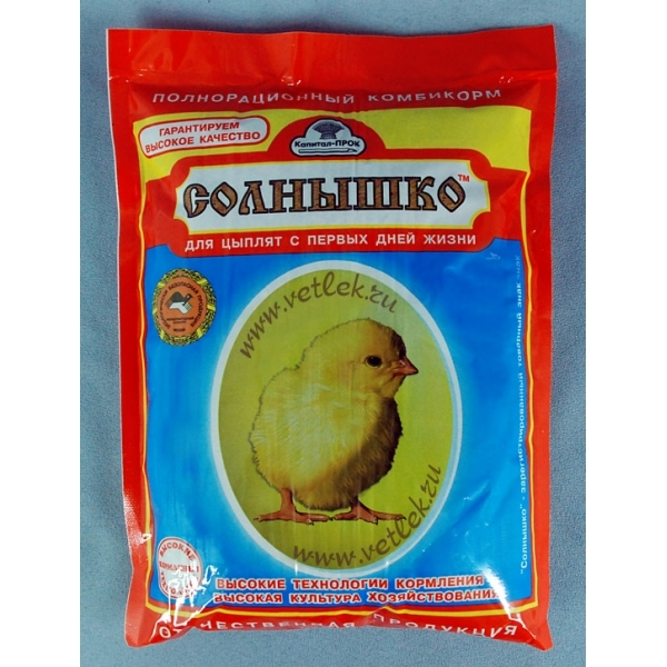 Стартовый комбикорм для цыплят