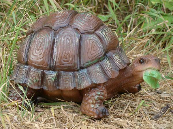 Статуэтка черепахи из гипса