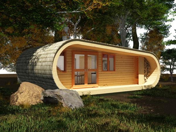 Строительство деревянных построек дает огромный простор для фантазии.