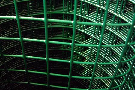 Сварная садовая металлическая сетка в пластике