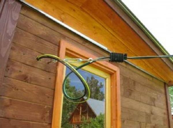 Точка доступа кабеля в дом