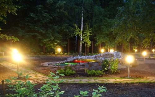 Торшерные дачные светильники для улицы
