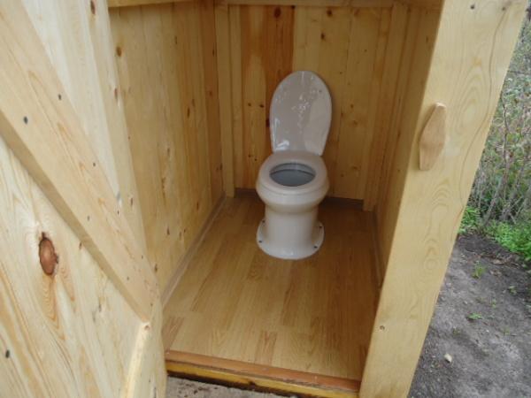 Унитаз дачный для уличного туалета