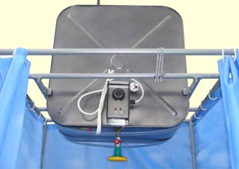 В последнее время можно приобрести уже готовый бак с нагревательными элементами внутри