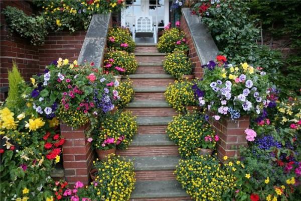 Вход в дом в английском стиле