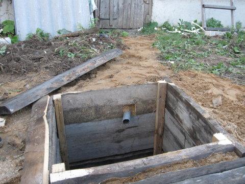 Устройство выгребной ямы на даче