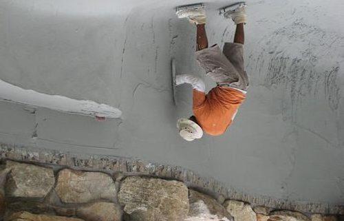 Выравнивание стенок.