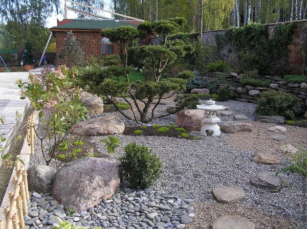 Японский сад – минимум ухода