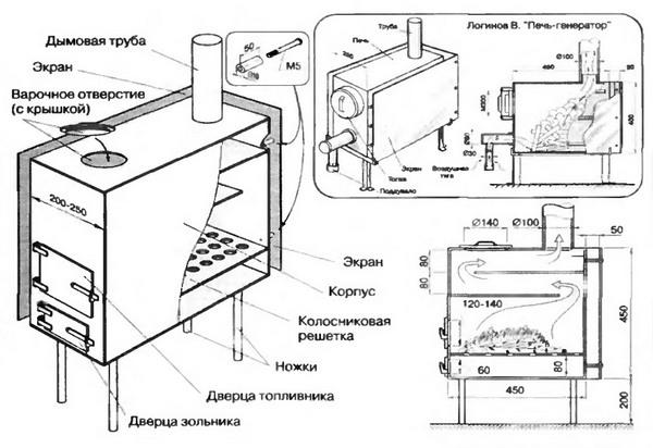 Здесь вы можете увидеть схему описываемого нами устройства