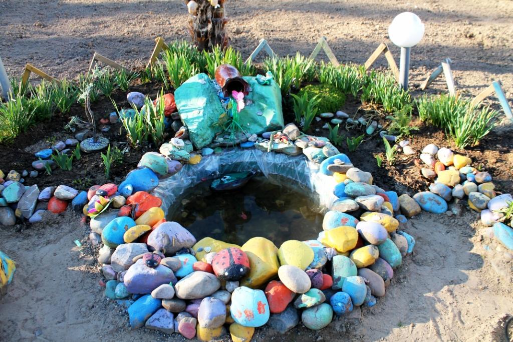 Поделки для двора из камня фото