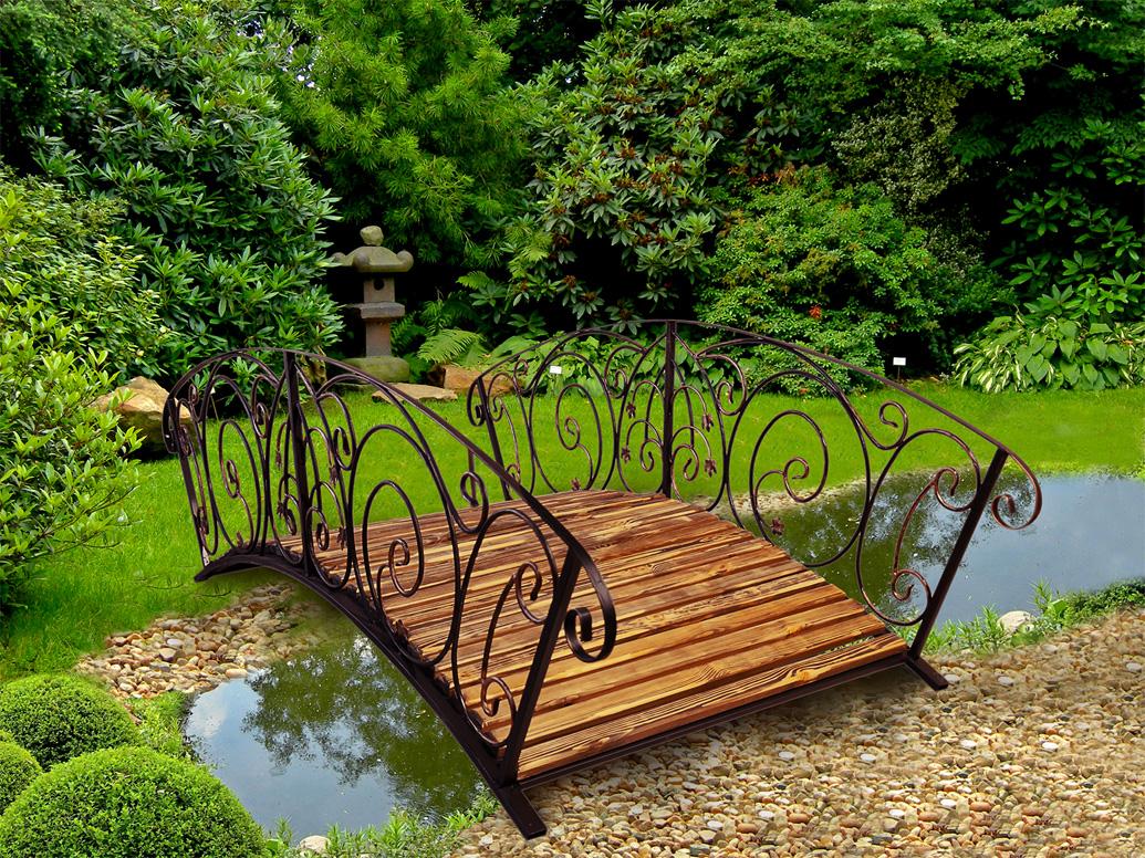 Мостик в саду своими руками фото 780