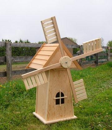 Декоративная мельница для сада своими руками чертежи фото 337