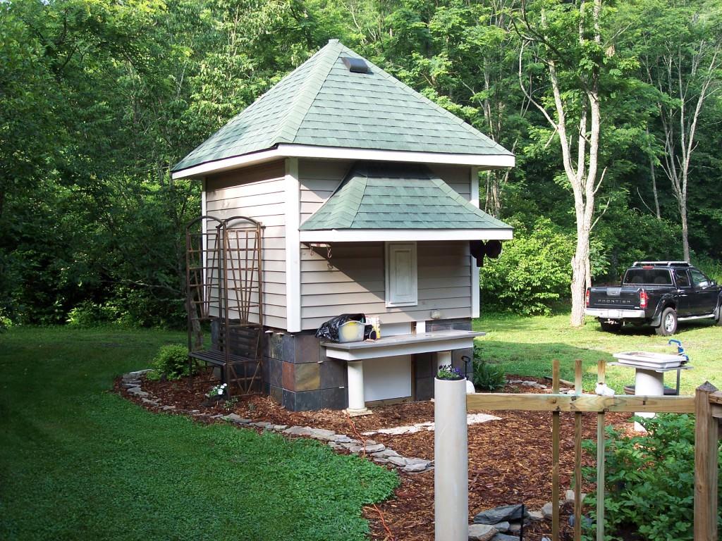 Садовые домики своими руками фото фото 964