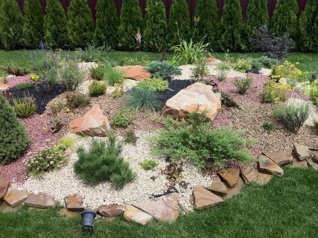 камни в саду дизайн фотогалерея выходы, отнюдь
