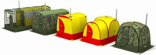 Бани-палатки