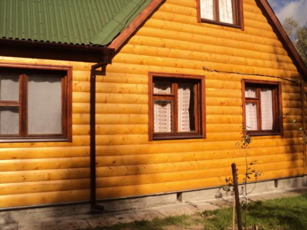Блок-хаус – неплохой выбор для небольшого дачного домика