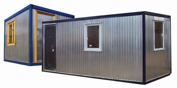 Бытовые помещения на основе блок-контейнеров