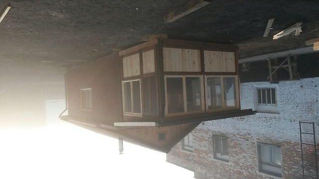Дачные дома из блок контейнеров с застекленной верандой
