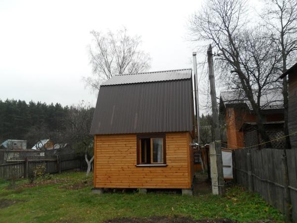 Дачный домик с печным отоплением.