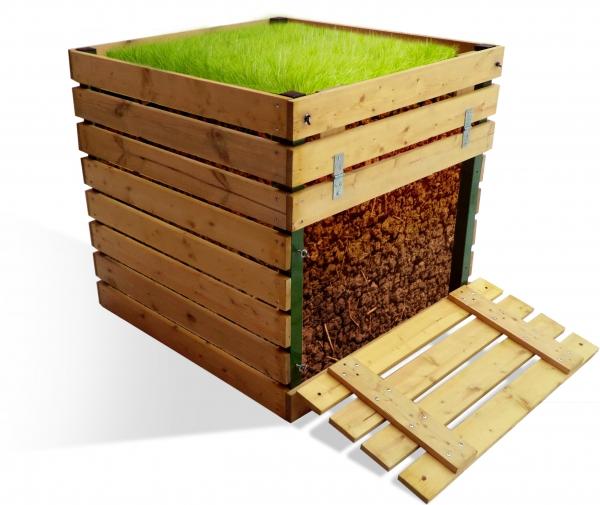 Деревянный компостер