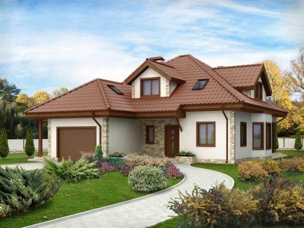 Дом из легких бетонов