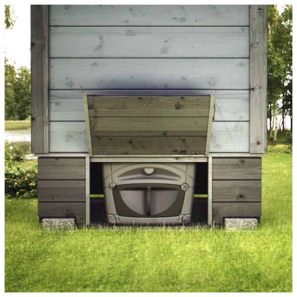 Еще одно умное решение – компостный туалет для дачи
