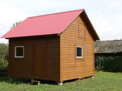 Фото небольшого каркасного дома для вашей загородной дачи