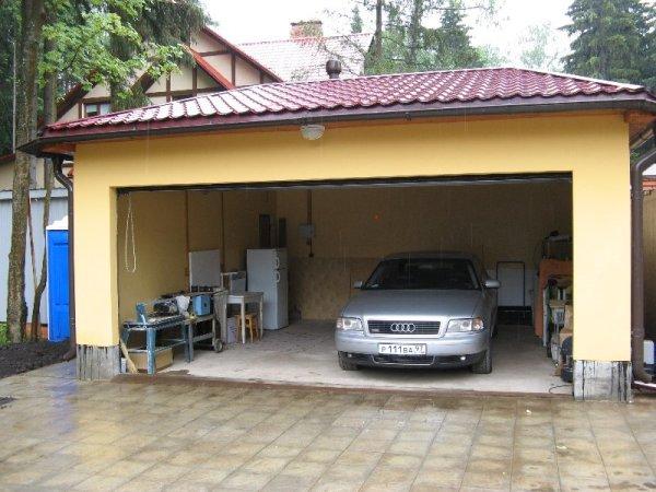 Фото расположения гаража