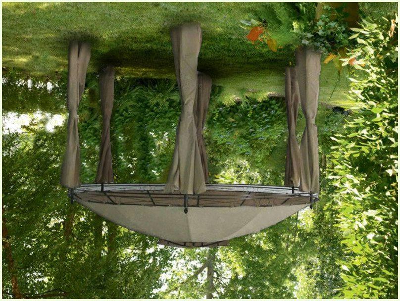 Фото садового павильона-палатки