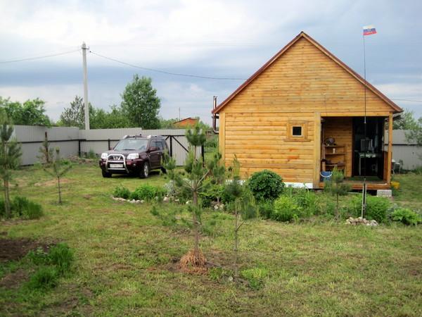 Фото садового участка.