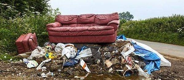 Фото возможного дачного мусора