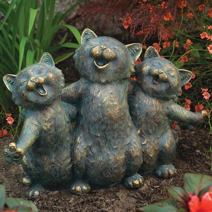Садовые скульптуры своими руками с инструкция 40