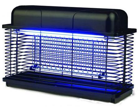 Использование специальной лампы поможет избавиться от назойливых комаров