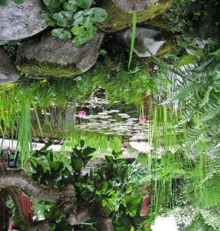 Изобилие растительности обеспечит большую естественность