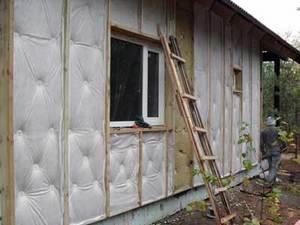 Какой бы материал вы не выбрали, не забывайте про теплоизоляцию стен